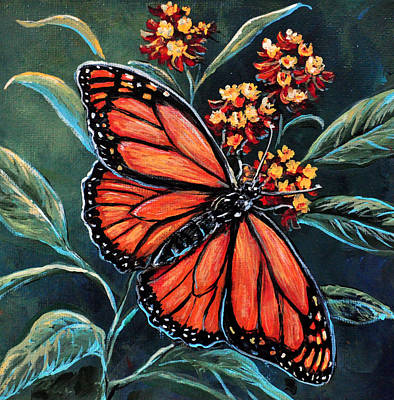 Monarch Poster by Gail Butler