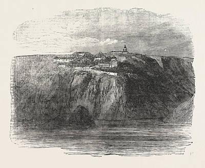 Monastery Of St. George Near Balaclava 1854 Poster by English School