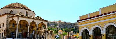 Monastiraki - Athens Poster by Corinne Rhode