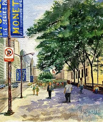 Monet In Chicago Poster