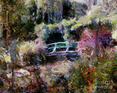 Monet's Bridge In Autumn Poster by Dragica  Micki Fortuna