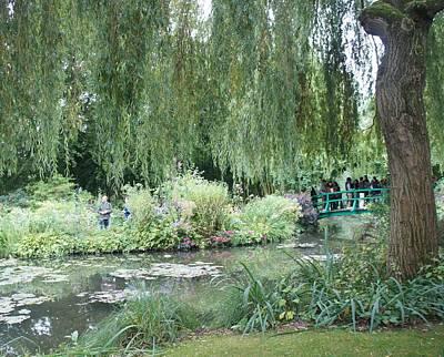 Monet's Japanese Bridge Poster