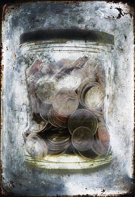 Money Frozen In A Jar Poster