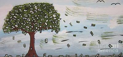 The Money Tree Poster by Jeffrey Koss