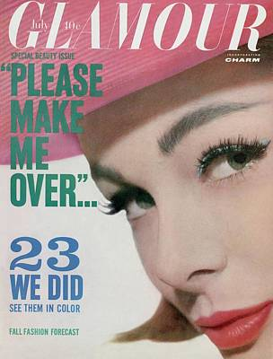 Monique Chevalier On The Cover Of Glamour Poster by Tom Palumbo