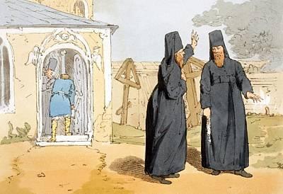 Monks, C.1804 Poster