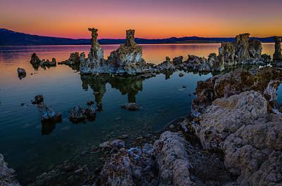 Mono Lake California Sunrise Poster