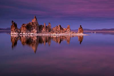 Mono Lake Evening Poster
