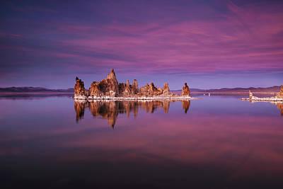 Mono Lake Sunset Poster