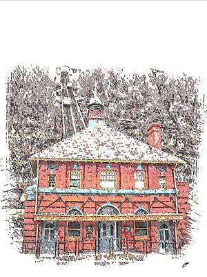 Monongahela Incline Poster by Spencer McKain