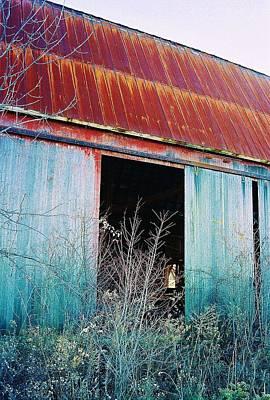 Monroe Co. Michigan Barn Poster by Daniel Thompson