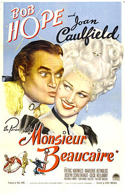 Monsieur Beaucaire, Us Poster, Bob Poster by Everett