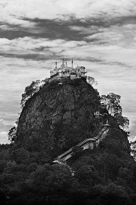 Mont Popa Poster
