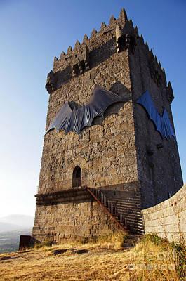 Montalegre Castle Poster by Carlos Caetano