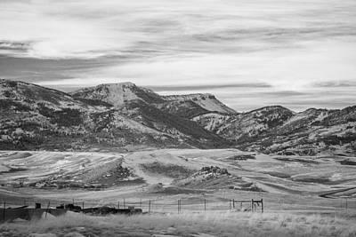 Montana Country Poster by Paul Bartoszek
