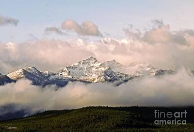 Montana Mountain Poster
