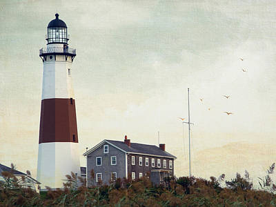 Poster featuring the photograph Montauk Dusk by Keith Armstrong