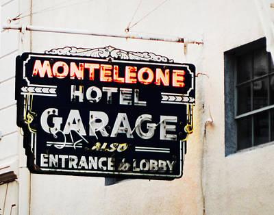 Monteleone Hotel Poster