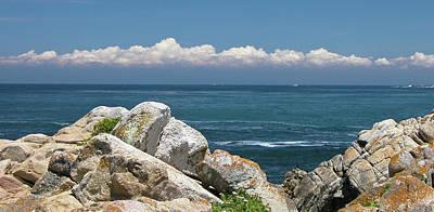 Monterey Beach Poster by Guy Whiteley