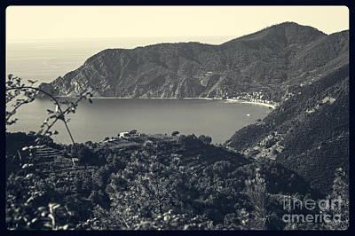 Monterosso Al Mare From Above Poster