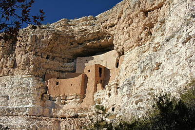 Poster featuring the photograph Montezuma Castle by Penny Meyers