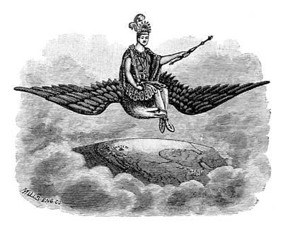 Montezuma, Pueblo Indian God King Poster by British Library
