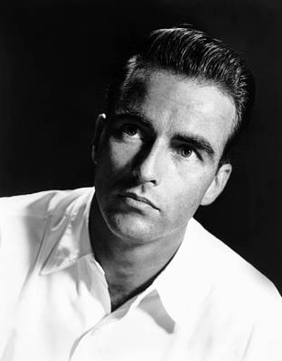 Montgomery Clift, Ca. Early 1950s Poster