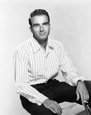 Montgomery Clift, Ca. Mid-1950s Poster by Everett
