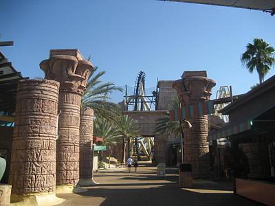 Montu Roller Coaster - Busch Gardens Tampa - 01131 Poster