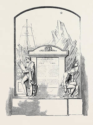 Monument To Sir John Franklin And His Companions Poster