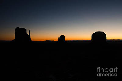 Poster featuring the photograph Monument Valley Sunrise by Jeff Kolker