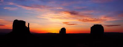 Monumental Sunrise Poster