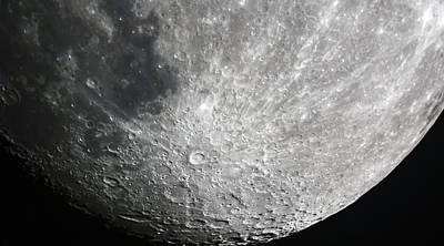 Moon Hi Contrast Poster