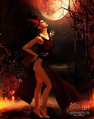 Moon Ritual Poster