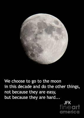 Moon Speech Poster