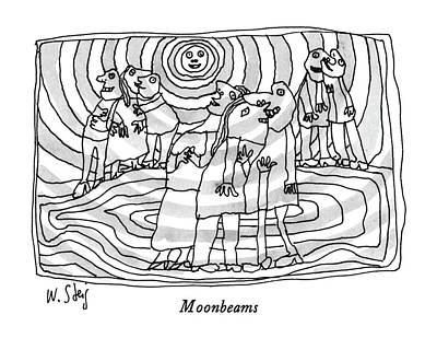Moonbeams Poster by William Steig