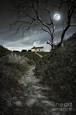 Moonlight Farm Poster by Carlos Caetano