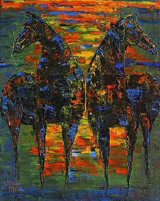 Moonlight Horses Poster