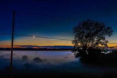 Moonlight Mist Poster by Randy Scherkenbach