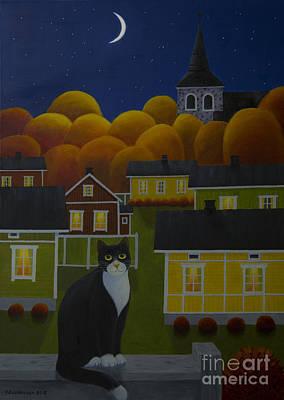 Moonlight Night Poster