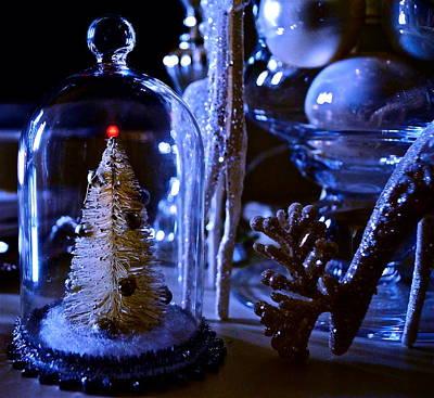 Moonlight Tree - Christmas Poster
