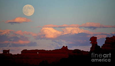 Moonrise Over Goblins Poster
