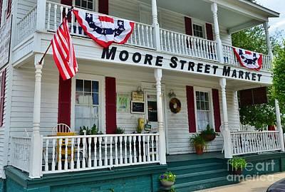 Moore Street Market Poster