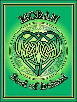 Moran Soul Of Ireland Poster