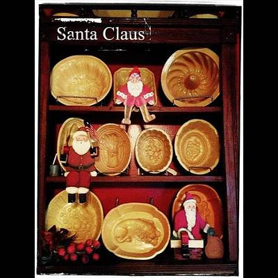 More Santas From My Collection. Made By Poster