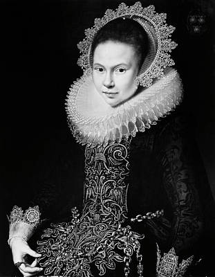 Moreelse Young Lady Poster by Granger