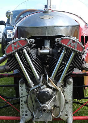 Morgan Matchless V Twin Poster