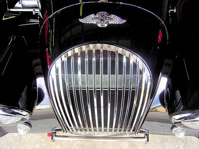 Morgan Sports Car Grille Poster