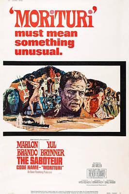 Morituri, Us Poster Art, Marlon Brando Poster