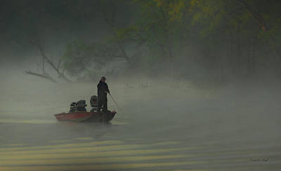 Morning Fisherman Poster